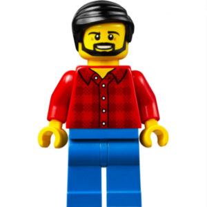 lego man with beard