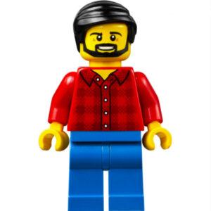 lego man with beard